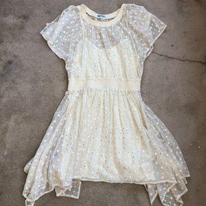 Leifnotes for Anthro Dot Gleam Dress